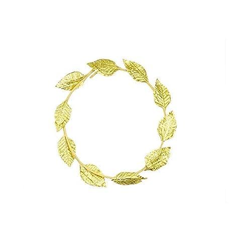 Mytoptrendz® Römische Griechische Gott Göttin gold leaf Lorbeerkranz, der Kopfbedeckung Toga Kostüm Party wählen aus (Göttin Kostüm Zubehör)