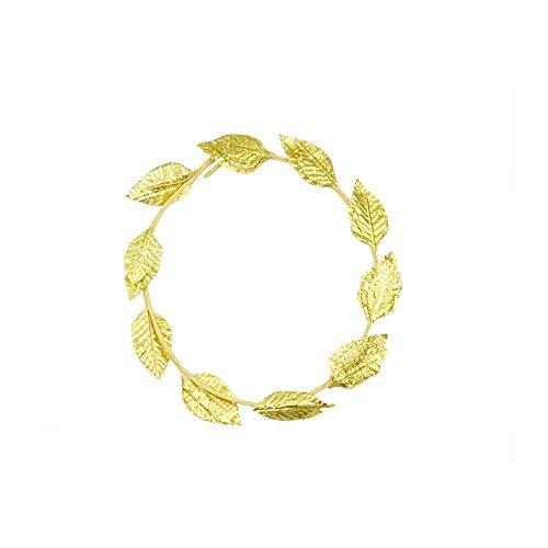 che Griechische Gott Göttin gold leaf Lorbeerkranz, der Kopfbedeckung Toga Kostüm Party wählen aus 2Stil (Gott, Göttin Kostüme)