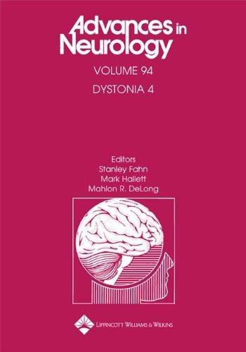 Dystonia 4 (Advances in Neurology) (2003-09-03)