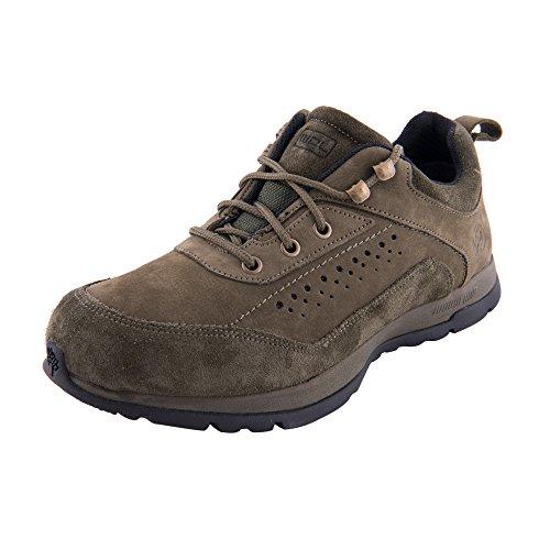2212596a2e2e Woodland Men s Nubuck DSLMLD Olive Green Leather Shoes (GC2062116OLIVEGRN)