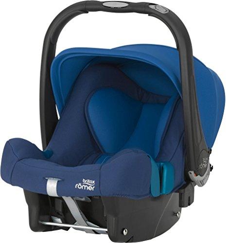 Britax Römer Babyschale BABY-SAFE PLUS SHR II, Gruppe 0+ (Geburt - 13 kg), Kollektion 2017, Ocean Blue