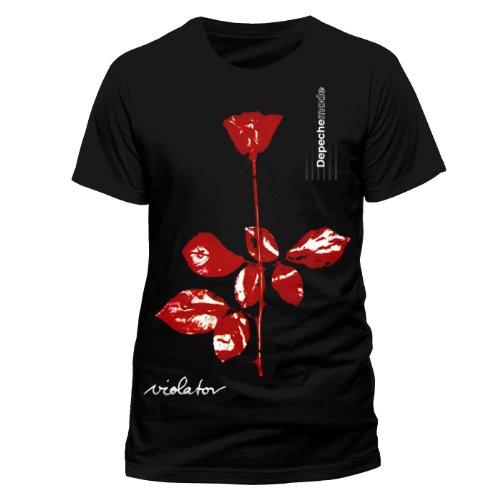 CID Depeche Mode - Violator T-Shirt Homme Multicolore FR : L (Taille Fabricant : L)