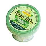 PETUNIA Aloe Vera Gel Naturel Soin du Visage Crème Hydratante Visage Jour Gel Doux - Vert