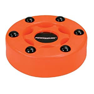 Powerslide Puck Logo Stück, Orange, One Size, 100737