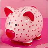 Change Of Heart Piggy Bank ~ Sweetie Money Box