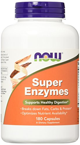 Now Foods, Super Enzyme, 180 Kapseln