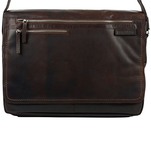 Rowalland of Scotland , Borsa Messenger Marrone (marrone)