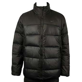 Mens Nike AD Black Padded Duck Down Winter Warm Coat