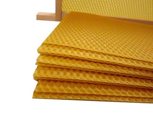 Beekeeping Supplies UK Unwire Super Foundation – 20 Blatt – für British National Supers – 100% Bienenwachs