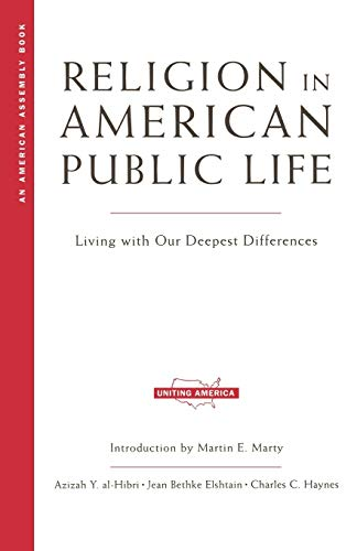 American Living Jeans (Religion in American Public Life: Living with Our Deepest Differences (American Assembly))