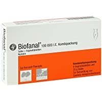 Biofanal Kombipackung Spar-Set 2x&Tabletten und 2x25g Salbe; zur Behandlung von Hefepilzerkrankungen preisvergleich bei billige-tabletten.eu