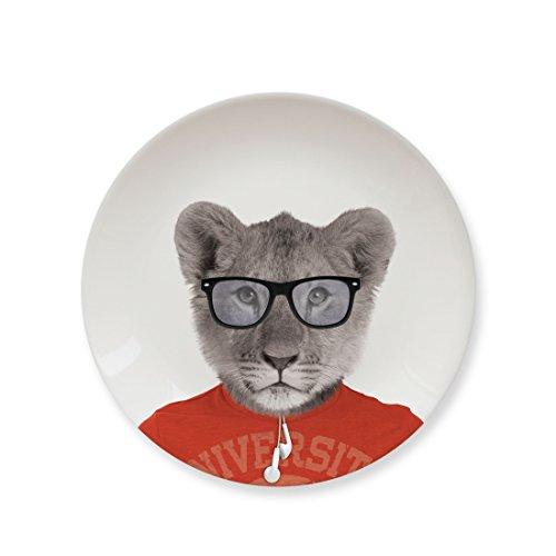 Mustard Kleiner Teller Keramik - Wild Dining Löwe