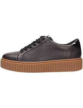 Sneaker Michael Kors Trevor in pelle nera
