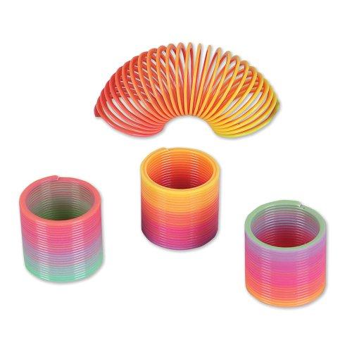 Mini Rainbow Coil Springs (1 dz) by Rhode Island Novelty