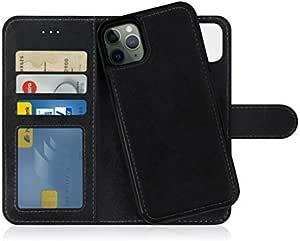 MyGadget Custodia Flip Cover 2in1 Magnetica per Apple iPhone 11 PRO Max - Portafoglio Funzione Stand Porta Carte - Case Similpelle PU Removibile - ...