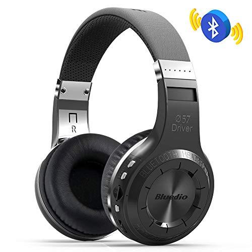 Tlgf Bluetooth-Kopfhörer Drahtlos Rauschen Abbrechen-Über Ohrhörer Mit HiFi-Stereo-Sound, In Mic Eingebaut,Black