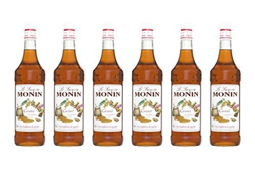 Monin Sirup Caramel, 1,0L 6er Pack
