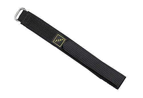minott-reloj-de-pulsera-banda-velcro-textiles-sport-band-en-negro-o-negro-azul-18-mm-colores-negro