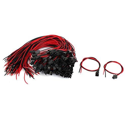 schluss Stecker-Buchse EL Draht Kabel Jumper Kabel 300mm Lang DE ()
