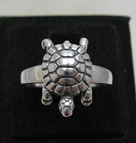 Sterling silber ring Schildkröte 925 Empress jewellery Größe 46-69 R001176