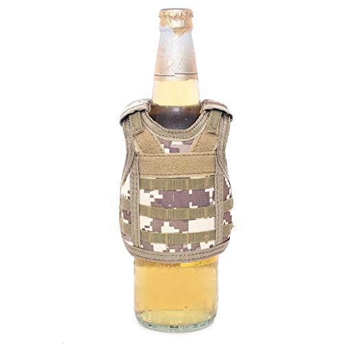 Sexy Militärischen Kostüm - VICKY-HOHO Mini Militärische Weste Bar Soda Bier Flasche Kühler Isolator kann Abdeckung
