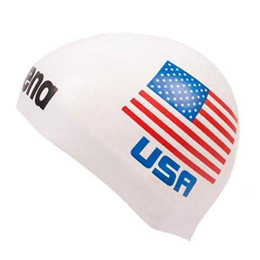 ea86d7af6a30 Arena 3d cuffia da piscina in Silicone con Bandiera Stati Uniti d' America  – Limitierte Edition USA. 🔍. vedi prezzo su ...