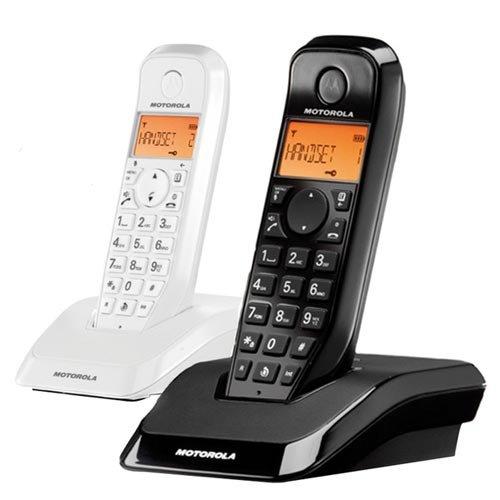 Motorola S1202 Duo - Teléfono fijo inalámbrico