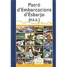 PATRO D'EMBARCACIONS D'ESBARJO (TECNICOS)