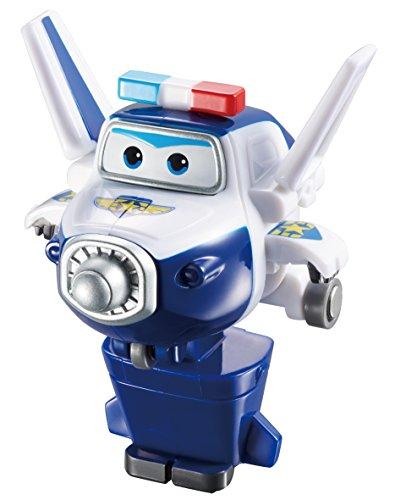 Alpha Animation & Toys Super Wings Transforming Paul vehículo de Juguete - vehículos de Juguete (Azul, Color Blanco, 4 Año(s), 9 Año(s), Niño/Niña, Interior, 136,8 g)