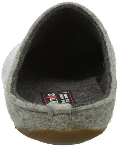 Haflinger Unisex Adulti Everest Lascia Pantofole Grigio (sogno Di Pietra)