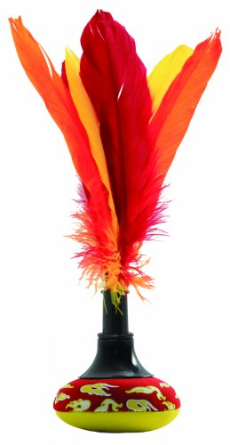 Preisvergleich Produktbild Schildkröt Funsports Handfederball Neopren Peteka, rot-gelb, 35,0 x 18,0 x 7,5