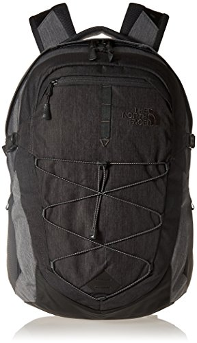 The North Face Unisex Rucksack Borealis, tnf dark grey heather/tnf medium grey heather, One Size -
