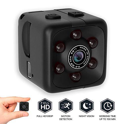Colorful Versteckte Kamera Mini Kamera Sport HD DV Kamera 1080P Tragbare Tiny Video Sound Kamera mit IR Nachtsicht & Bewegungserkennung - Mini-video-versteckte Kamera