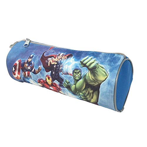 ASTUCCIO Porta Colori BUSTINA TOMBOLINO Avengers Marvel Supereroi CM. 23X8 - JK2254