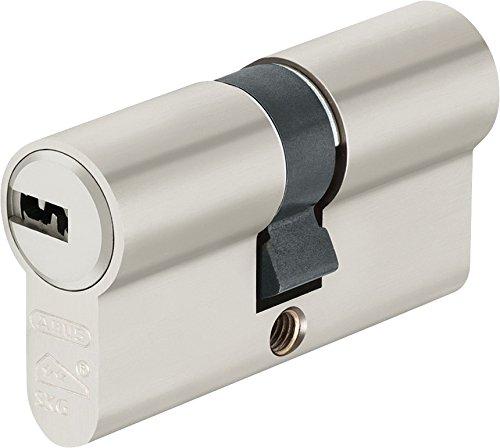 Abus Profilzylinder, LG 30/60 mm M.3 Schlüssel mit N+G, Wendeschlüssel, 1 Stück, EC550NP