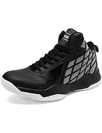 GOMNEAR Männer Basketball Schuhe Leichte Outdoor Breath Knöchel Trainer  Stiefel Laufsport Sneaker 576514207e