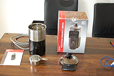 Green Coffee beans Home coffee roaster machine roasting waste heat circulation *220V
