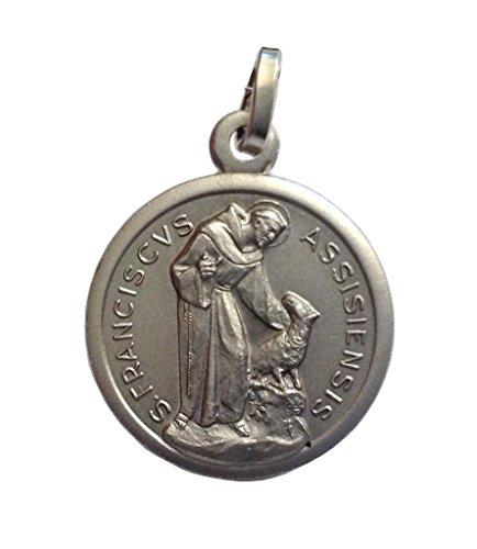 medaille-des-heiligen-franz-von-assisi-in-925-sterling-silber-patron-von-europa
