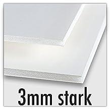selbstklebend Foam Board schwarz 5mm Leichtschaumplatte Kapa Board