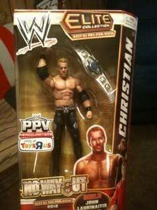 Exclusive WWE Elite Best of PPV No Way Out ~ Christian ~ Wrestling Action Figure by WWE