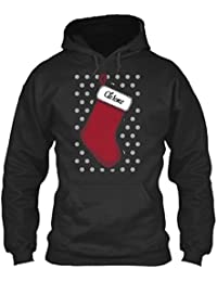 teespring Men's Novelty Slogan Hoodie - Clarence Christmas Stocking