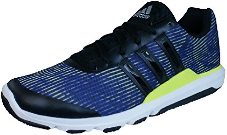 Adidas Adipure Primo - Zapatillas de Atletismo para Hombre, Negro/Morado/Lima