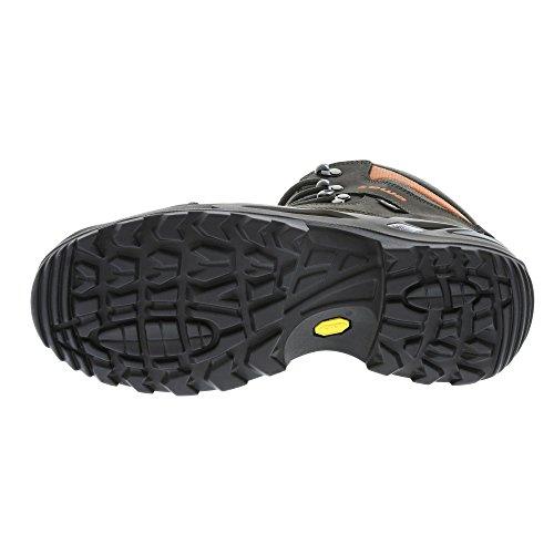 """LOWA """"Renegade GTX Mid W"""" Chaussures randonnée homme (320945 9763) Schiefer - Orange"""