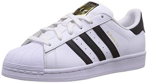 adidas Superstar J Unisex Sneaker - weiß/schwarz