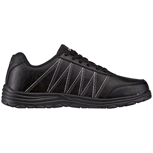 Kappa Slender, Baskets Basses Homme Noir (1111 Black)