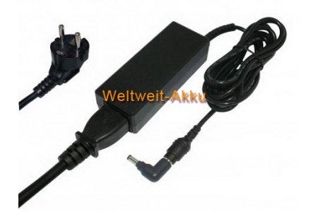 19V (Ausgangsspannung) Batterie de remplacement / AC Adaptateur pour Samsung N350, NC-10, NC-20, NF110, NF310-A01, NP-Q1EX, Q320-32P, Q430-JU01, QX410-J01, R522-52S, R540-JA02, R620-63G, RV510-A01, passt pour den Typ AA-PA2N40W, AA-PA2N40W/E, AA-PA2N40W/US, AD-4019, AD-4019R, ADP-40MH