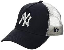 New Era Herren 9Forty AF Trucker New York Yankees Kappe, Blau, OSFA