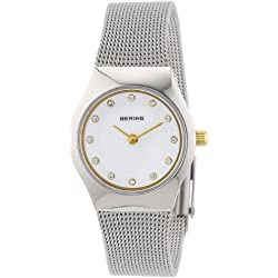 Bering Time Women's Quartz Watch 11923-004 with Metal Strap