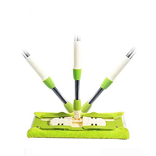 Mop per pavimenti in laminato spazzatrici materiali per la pulizia della casa in tessuto facile scopa piatta con secchio per spazzare pavimenti duri per pulitori pigri
