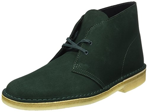 41EskyO3RhL Clarks Originals Men's Desert Boots, Dark Green Suede, 8 UKUK best buy   Reviews   Price